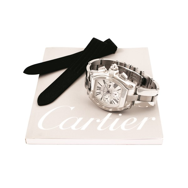 "Cartier - ""Roadster Chronograph, Automatic"", Ref. 2618"