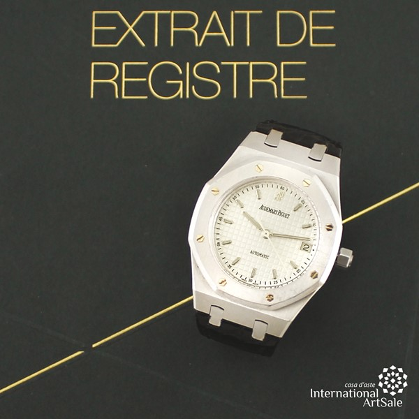 "Audemars Piguet - ""Royal Oak"", Ref. 15189ST, ""Banque Pictet"""