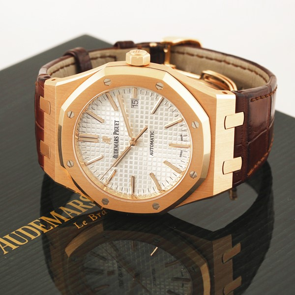 "Audemars Piguet - ""Royal Oak"" – 15400 OR"