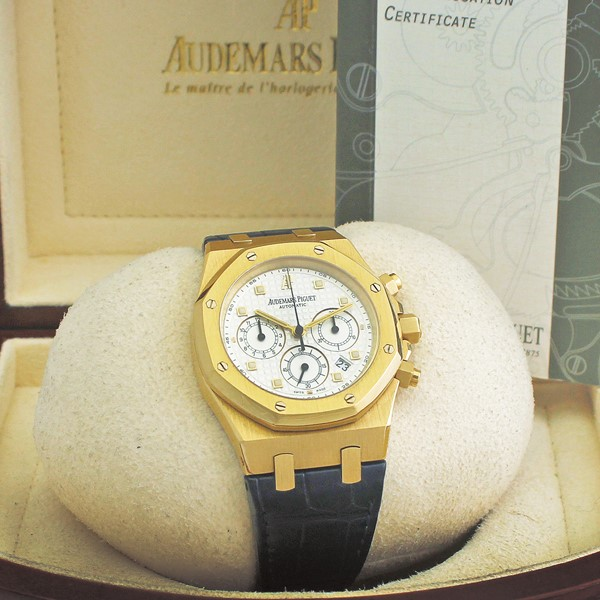 "Audemars Piguet - ""Royal Oak Chronograph"", Ref. 26022BA"