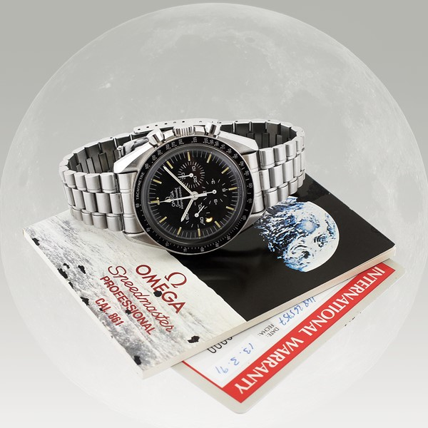 "Omega : ""Speedmaster Professional"", Ref. 359050.00  - Auction Vintage and Modern Watches - International Art Sale - Casa d'Aste"